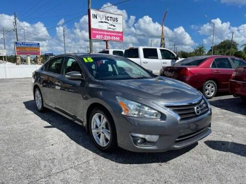 2015 Nissan Altima for sale at Invictus Automotive in Longwood FL
