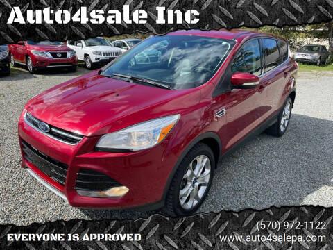2013 Ford Escape for sale at Auto4sale Inc in Mount Pocono PA
