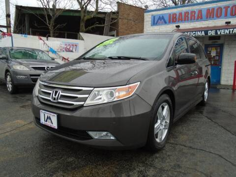 2012 Honda Odyssey for sale at IBARRA MOTORS INC in Cicero IL