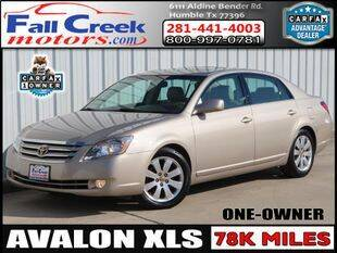 2005 Toyota Avalon for sale at Fall Creek Motor Cars in Humble TX