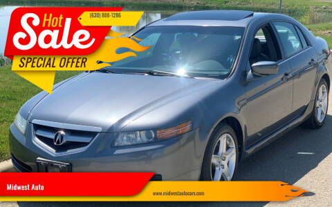 2006 Acura TL for sale at Midwest Auto in Naperville IL