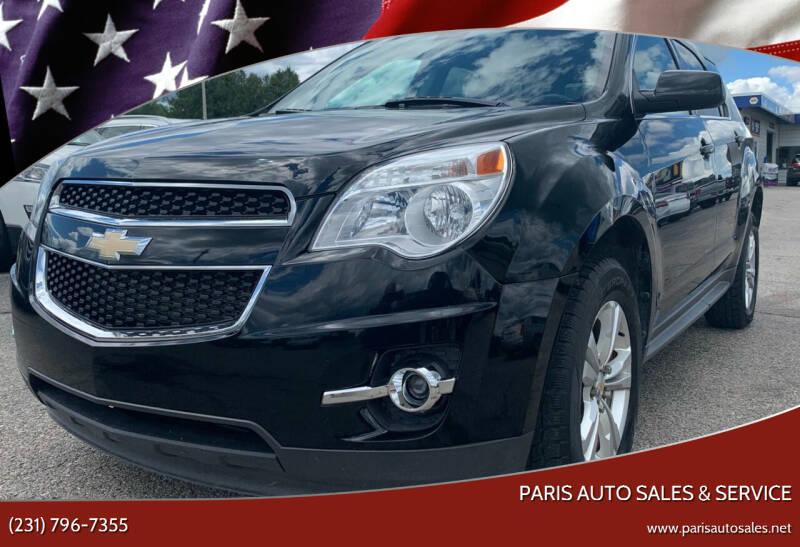 2011 Chevrolet Equinox for sale at Paris Auto Sales & Service in Big Rapids MI