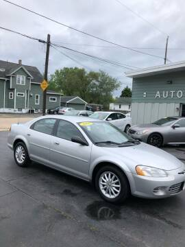 2002 Chrysler Sebring for sale at SHEFFIELD MOTORS INC in Kenosha WI