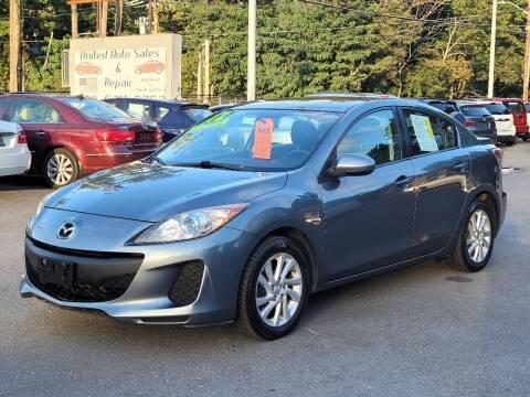2012 Mazda MAZDA3 for sale at United Auto Service in Leominster MA