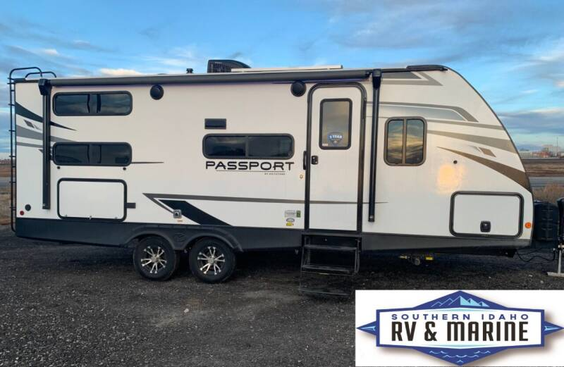 2021 KEYSTONE PASSPORT 221BH for sale at SOUTHERN IDAHO RV AND MARINE in Jerome ID