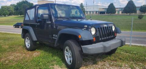 2009 Jeep Wrangler for sale at Sinclair Auto Inc. in Pendleton IN