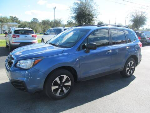2018 Subaru Forester for sale at Blue Book Cars in Sanford FL