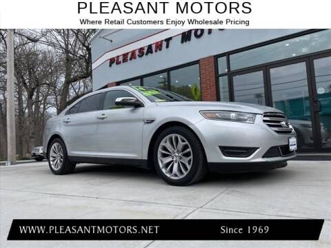 2014 Ford Taurus for sale at Pleasant Motors in New Bedford MA