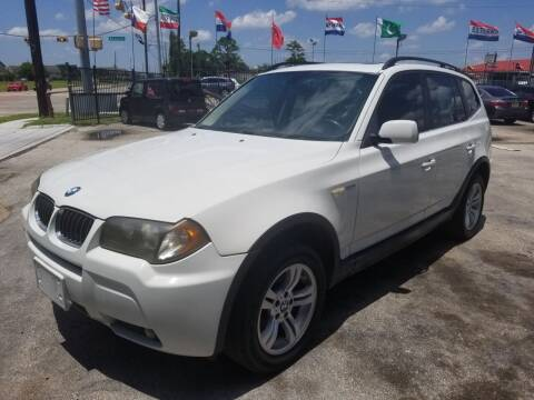 2006 BMW X3 for sale at Ace Automotive in Houston TX