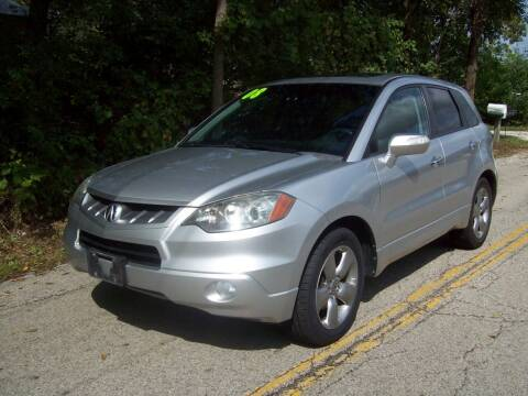 2008 Acura RDX for sale at Edgewater of Mundelein Inc in Wauconda IL