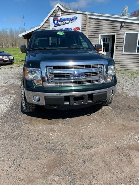 2013 Ford F-150 for sale at ROUTE 11 MOTOR SPORTS in Central Square NY