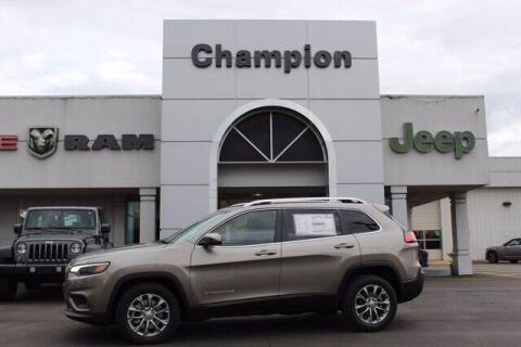 2021 Jeep Cherokee for sale at Champion Chevrolet in Athens AL