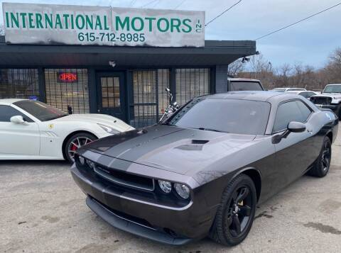 2013 Dodge Challenger for sale at International Motors Inc. in Nashville TN