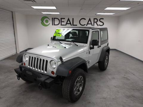 2012 Jeep Wrangler for sale at Ideal Cars Broadway in Mesa AZ