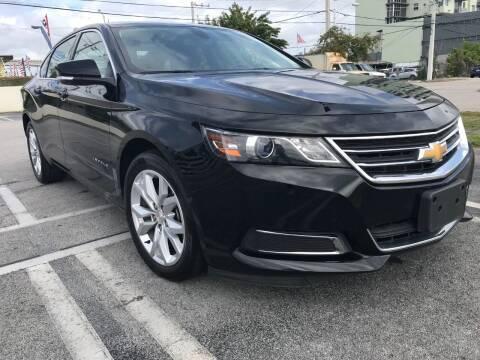 2017 Chevrolet Impala for sale at MIAMI AUTO LIQUIDATORS in Miami FL
