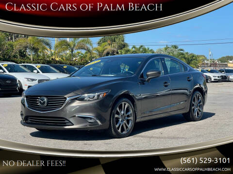 2017 Mazda MAZDA6 for sale at Classic Cars of Palm Beach in Jupiter FL