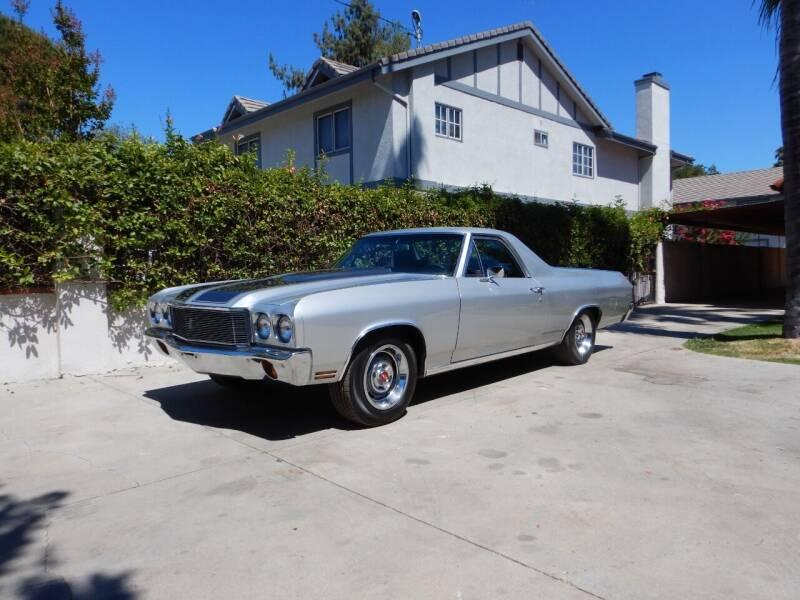 1972 Chevrolet El Camino for sale at California Cadillac & Collectibles in Los Angeles CA