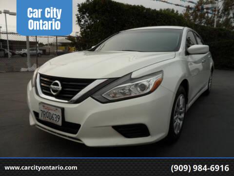 2016 Nissan Altima for sale at Car City Ontario in Ontario CA