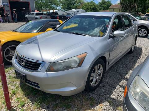 2008 Honda Accord for sale at Trocci's Auto Sales in West Pittsburg PA