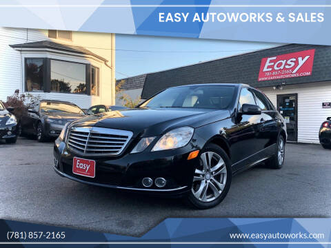 2011 Mercedes-Benz E-Class for sale at Easy Autoworks & Sales in Whitman MA