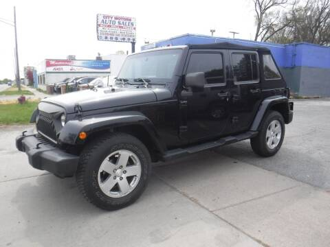 2008 Jeep Wrangler Unlimited for sale at City Motors Auto Sale LLC in Redford MI