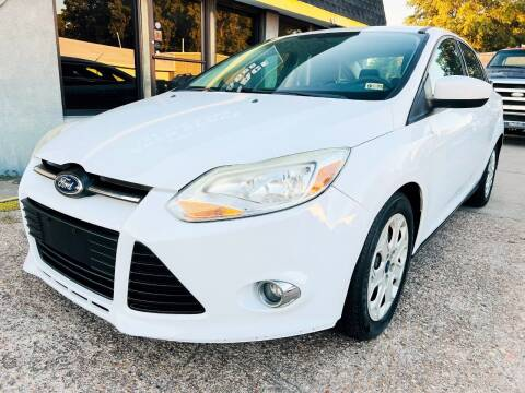 2012 Ford Focus for sale at Auto Space LLC in Norfolk VA