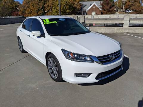 2013 Honda Accord for sale at QC Motors in Fayetteville AR