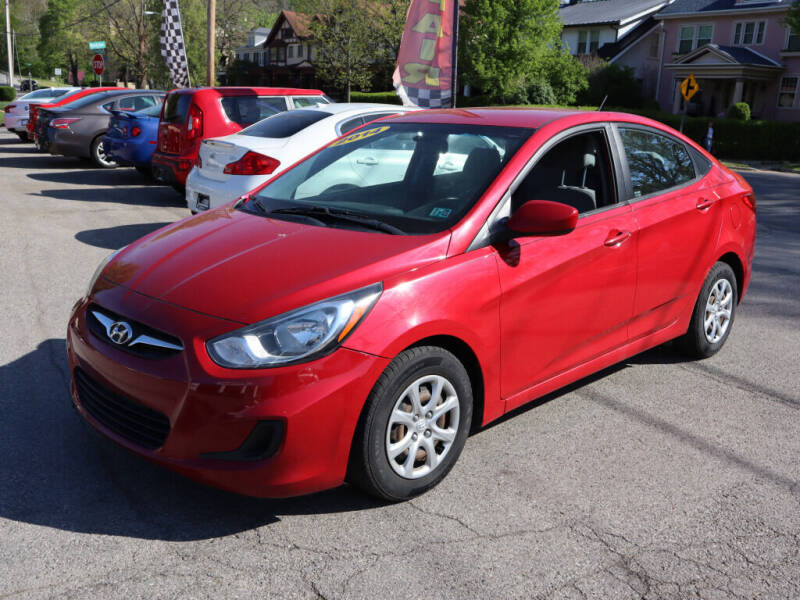2014 Hyundai Accent for sale at Advantage Auto Sales in Wheeling WV