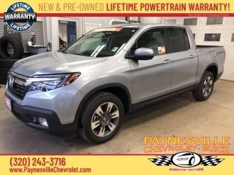 2017 Honda Ridgeline for sale at Paynesville Chevrolet - Buick in Paynesville MN