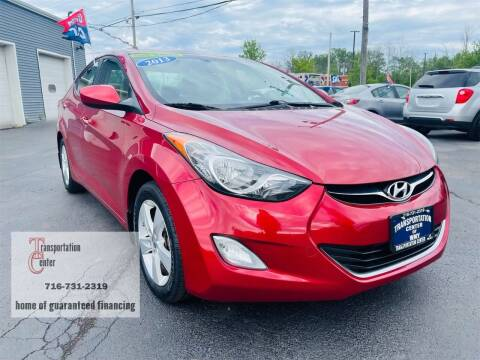 2013 Hyundai Elantra for sale at Transportation Center Of Western New York in Niagara Falls NY