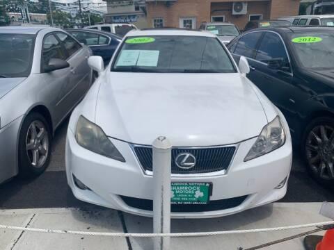 2007 Lexus IS 250 for sale at Park Avenue Auto Lot Inc in Linden NJ