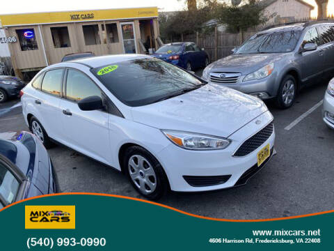 2016 Ford Focus for sale at Mix Cars in Fredericksburg VA