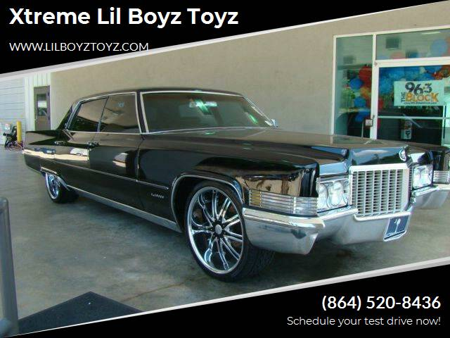 1970 Cadillac Fleetwood for sale at Xtreme Lil Boyz Toyz in Greenville SC