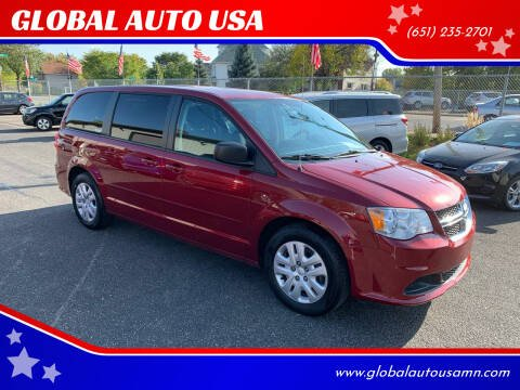 2015 Dodge Grand Caravan for sale at GLOBAL AUTO USA in Saint Paul MN