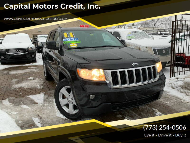 2011 Jeep Grand Cherokee for sale at Capital Motors Credit, Inc. in Chicago IL