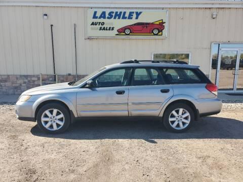 2008 Subaru Outback for sale at Lashley Auto Sales in Mitchell NE
