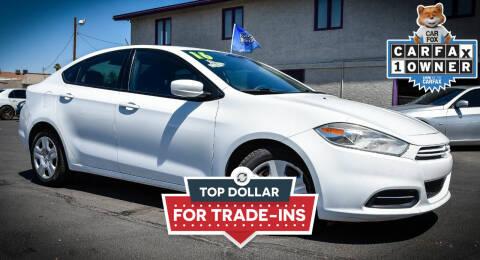 2016 Dodge Dart for sale at Rahimi Automotive Group in Yuma AZ