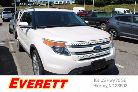 2013 Ford Explorer for sale at Everett Chevrolet Buick GMC in Hickory NC