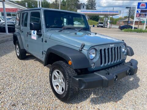 2015 Jeep Wrangler Unlimited for sale at Y City Auto Group in Zanesville OH
