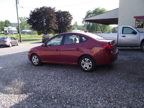 2010 Hyundai Elantra for sale at Country Truck and Car Lot II in Richfield PA