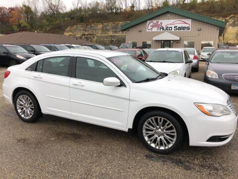 2013 Chrysler 200 for sale at Gilly's Auto Sales in Rochester MN