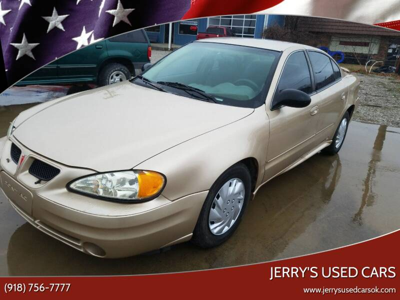2004 Pontiac Grand Am for sale at Jerry's Used Cars in Okmulgee OK