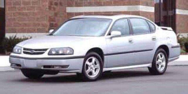 2003 Chevrolet Impala for sale at The Back Lot in Lebanon PA