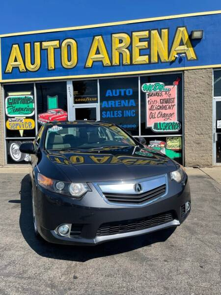 2013 Acura TSX for sale at Auto Arena in Fairfield OH