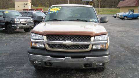 2004 Chevrolet Silverado 1500 for sale at SHIRN'S in Williamsport PA