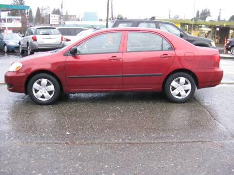 2005 Toyota Corolla for sale at UNIVERSITY MOTORSPORTS in Seattle WA