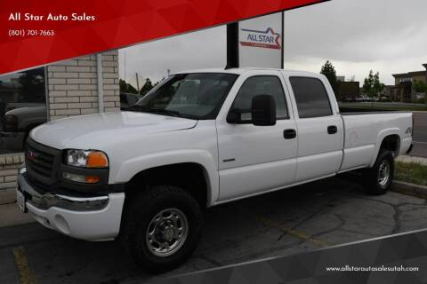 2007 GMC Sierra 3500 Classic for sale at All Star Auto Sales in Pleasant Grove UT