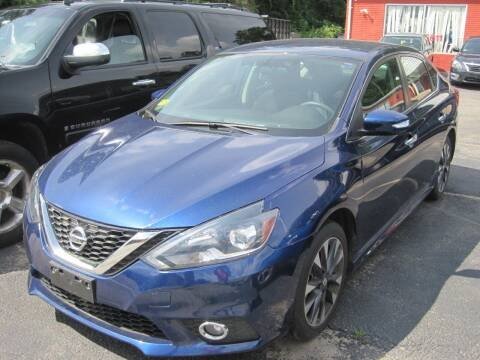 2017 Nissan Sentra for sale at Zinks Automotive Sales and Service - Zinks Auto Sales and Service in Cranston RI