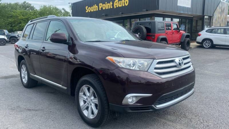 2012 Toyota Highlander for sale at South Point Auto Plaza, Inc. in Albany NY