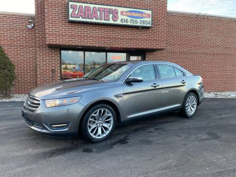2013 Ford Taurus for sale at Zarate's Auto Sales in Caledonia WI